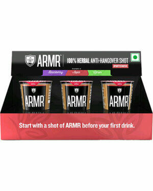 ARMR Anti Hangover Drinks Pack Of 3
